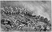 Siege of Ladysmith,  l November 1899-28 February 1900.  Skirmish between besieging Boers and British troops.  2nd Boer War 1899-1900.