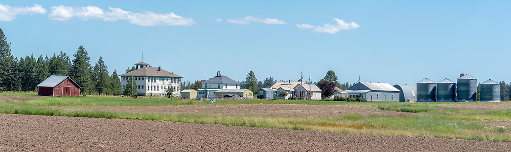 The small town of Flora, Oregon.