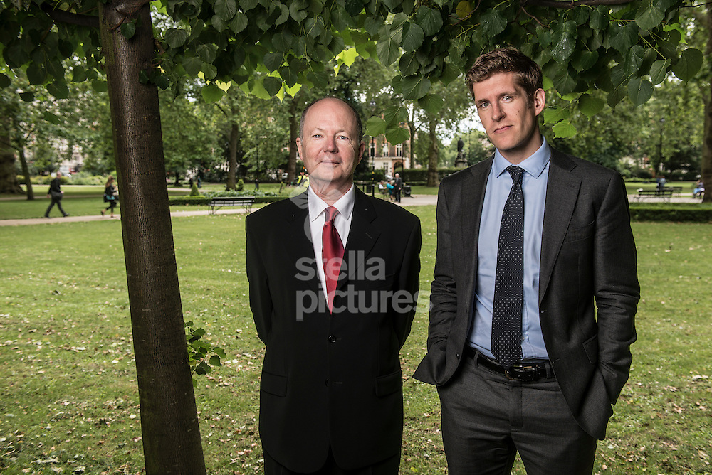 James Thornton CEO (red tie) and Alan Andrews, lawyer from Client Earth pictured at Russell Square, London<br /> Picture by Daniel Hambury/Stella Pictures Ltd +44 7813 022858<br /> 05/07/2016