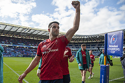 March 30, 2019 - Edinburgh, Scotland, United Kingdom - Conor Murray of Munster celebrates during the Heineken Champions Cup Quarter Final match between Edinburgh Rugby and Munster Rugby at Murrayfield Stadium in Edinburgh, Scotland, United Kingdom on March 30, 2019  (Credit Image: © Andrew Surma/NurPhoto via ZUMA Press)