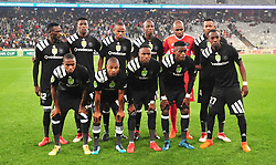 Cape Town 180314.Orland Pirates team that played against  Cape Town City in the last 16 of the Nedbank Cup  at the Cape Town Stadium. Photograph:Phando Jikelo/AFRICAN NEWS AGENCY/ANA