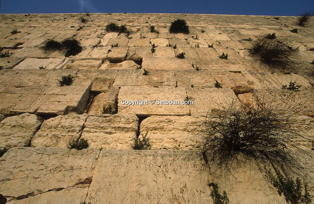 Western Wall / ìMur des lamentationsî     Israel     ///  Mur des lamentations   Jerusalem  Israel   ///     L004351  /  R00290  /  P116324