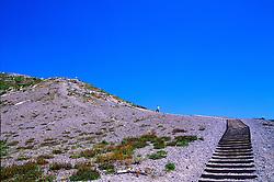 Wooden Steps at Windy Ridge, Mt. St. Helens National Volcanic Monument, Washington, US