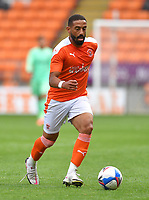 Photographer Dave Howarth/CameraSport<br /> <br /> Football Pre-Season Friendly - Blackpool v Barrow AFC - Tuesday 18th August 2020 - Bloomfield Road - Blackpool<br /> <br /> World Copyright © 2020 CameraSport. All rights reserved. 43 Linden Ave. Countesthorpe. Leicester. England. LE8 5PG - Tel: +44 (0) 116 277 4147 - admin@camerasport.com - www.camerasport.com