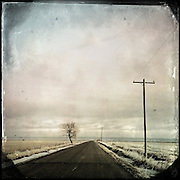 Rural road, Castleford, Idaho