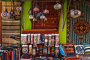 Shop on Arab Street in the Malay Heritage District, Singapore, Republic of Singapore