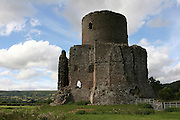 UK, Wales, Monmouthshire, The main Keep at Skenfrith Castle,