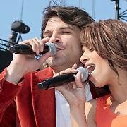 NLD/Amsterdam/20110430 - Koninginnedagconcert Radio 538, Xander de Buisonje en Glennis Grace