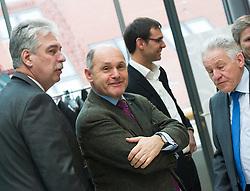 15.03.2016, Finanzministerium, Wien, AUT, Bundesregierung, Verhandlungen zum Finanzausgleich, im Bild v.l.n.r. Bundesminister für Finanzen Hans Jörg Schelling (ÖVP), Finanzreferent Niederösterreich Wolfgang Sobotka (ÖVP), Landeshauptmann Vorarlberg Markus Wallner (ÖVP) und Landeshauptmann Oberösterreich Josef Pühringer (ÖVP) // during negotiations according to redistribution of income in Vienna, Austria on 2016/03/15, EXPA Pictures © 2016, PhotoCredit: EXPA/ Michael Gruber