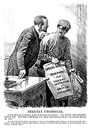 """Strictly Unofficial. Soviet Minister (to Emissary of Red Trade Union International). """"Go forth and prosper, little son. And don't be hurt if I tell MacDonald that I've never heard of you."""" [It is the habit of the Soviet government to deny all resposibility for the behaviour of those communist organisations whose activities, directed from Moscow, constitute a breach of its own pledge to our government not to interfere in British affairs.]"""
