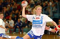 Håndball, kvinner, Gildeserien 04.01.05 Byåsen - Nordstrand 29-21, Randi Gustad<br />Foto: Carl-Erik Eriksson, Digitalsport