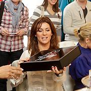 NLD/Den Bosch/20120214 - Valentijnslunch 2012 Addy van den Krommenacker, Quinty Trustfull - van den Broek