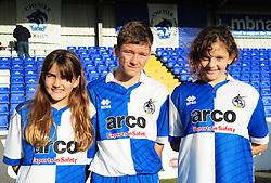 Bristol Rovers mascots - Photo mandatory by-line: Neil Brookman/JMP - Mobile: 07966 386802 - 22/11/2014 - Sport - Football - Chester - Deva Stadium - Chester v Bristol Rovers - Vanarama Football Conference