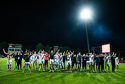Players of NK Olimpija celebrating after winning final match of Slovenian football cup for season 2020/2021 between teams NK Olimpija Ljubljana and NK Celje, 25th May, 2021, Stadion Bonfika, Koper, Slovenia. Photo by Grega Valancic / Sportida