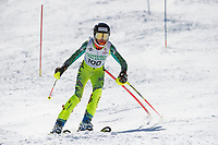 Paul Ladouceur Slalom mens U14 second run.  ©2018 Karen Bobotas Photographer