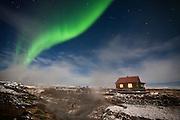Aurora Borealis at Hveravellir, central highlands Iceland