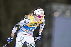 February 21, 2019 - Seefeld In Tirol, AUSTRIA - 190221 Stina Nilsson of Sweden competes in women's cross-country skiing sprint qualification during the FIS Nordic World Ski Championships on February 21, 2019 in Seefeld in Tirol..Photo: Vegard Wivestad Grøtt / BILDBYRÃ…N / kod VG / 170285 (Credit Image: © Vegard Wivestad GrØTt/Bildbyran via ZUMA Press)