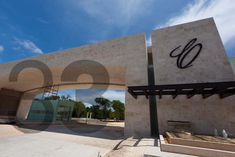 Cancun, Quintana Roo, Mexico: Construccion del Cancun Country Club
