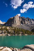Temple Crag above Big Pine Lake #3, John Muir Wilderness, Sierra Nevada Mountains, California USA