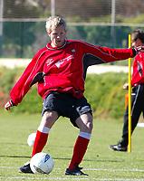 Fotball - Treningsleir La Manga. 14. mars 2002. Trond Bjørnsen, Bryne.<br /> <br /> Foto: Andreas Fadum, Digitalsport