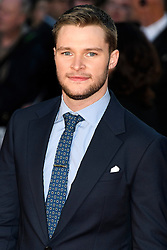 © Licensed to London News Pictures. 16/10/2016. London, UK. JACK REYNOR attends the film premiere of Free Fire showing at The London Film Festival. Ray Tang/LNP