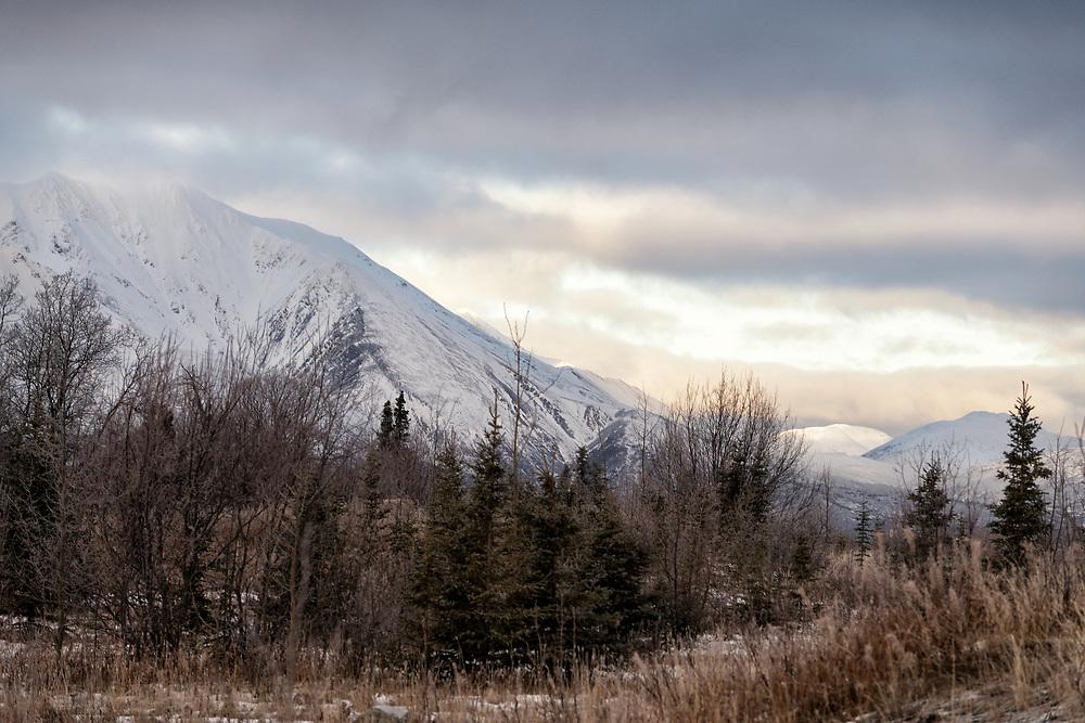 St. Elias mountains in the Yukon