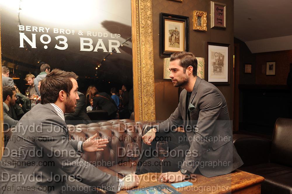 DAVID WEBB; MATT JOHNSON, The VIP night for Cirque Du Soleil: Quidam at  the Royal Albert Hall, London. 7 January 2013