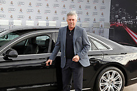 Carlo Ancelotti participates and receives new Audi during the presentation of Real Madrid's new cars made by Audi in Madrid. December 01, 2014. (ALTERPHOTOS/Caro Marin)