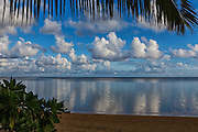 The Coast of Anini Beach in Kauai Hawaii