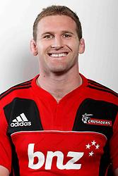 Kieran Read. Crusaders Headshots. Investec Super Rugby, Rugby Park, Christchurch. Thursday 3 Febuary 2011 . Photo: Simon Watts/photosport.co.nz