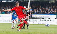 Photo: Richard Lane/Richard Lane Photography. <br /> Colchester United v Coventry City. Coca Cola Championship. 19/04/2008. City's Elliot Ward scores his second goal from a penalty.
