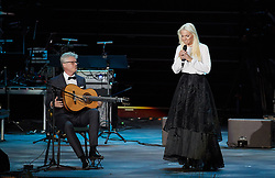 October 31, 2016 - Malm√, Sweden - Swedish opera singer Malena Ernman, seen on stage during the 'Together in Hope' event at Malmo Arena on October 31, 2016 in Malmo, Sweden. The Pope is on 2 days visit attending Catholic-Lutheran Commemoration in Lund and Malmo.  (Credit Image: © Aftonbladet/IBL via ZUMA Wire)
