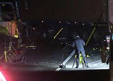 M271 Lorry Crash