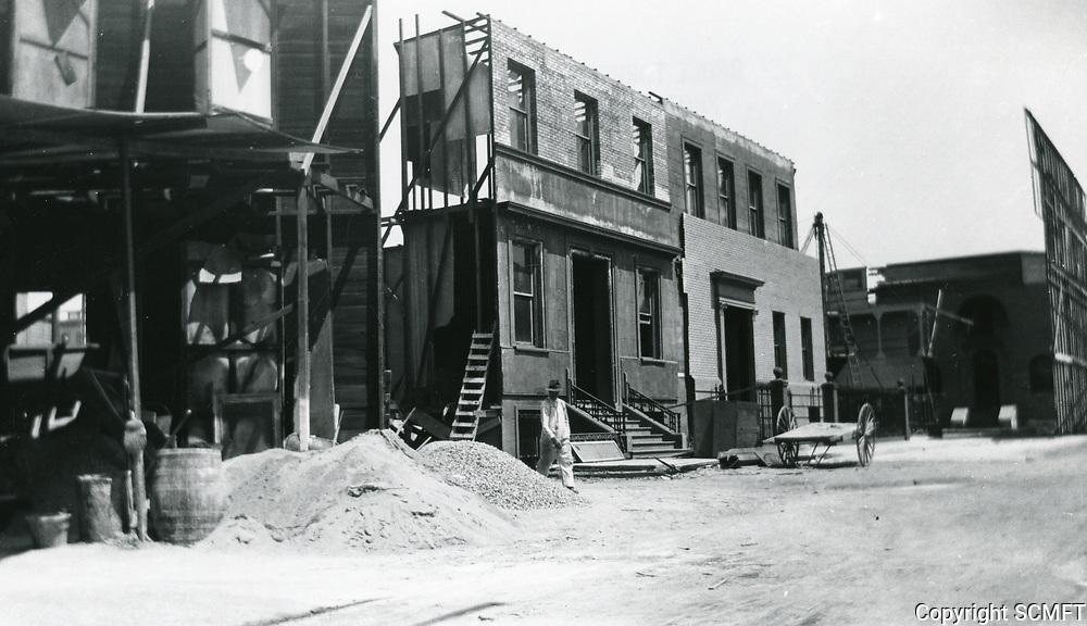1923 Christie Studios at Sunset Blvd. & Gower St.