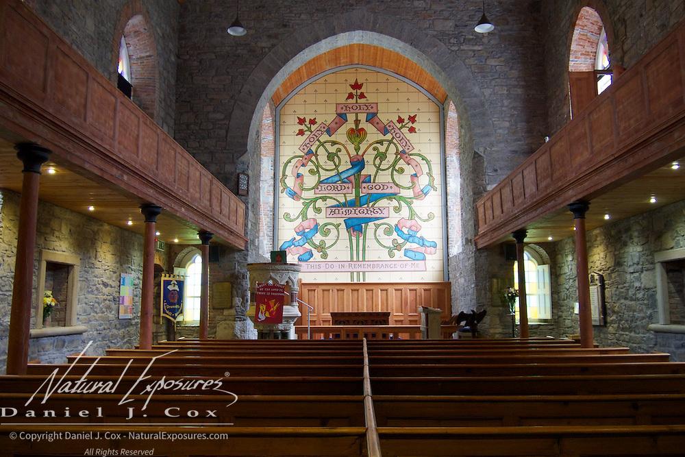 Drumcliffe Church, Ireland.