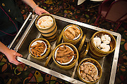 A cart of select Dim Sum is pushed through the dining room at Great Mall Mayflower Restaurant in Milpitas, California, on September 11, 2014. (Stan Olszewski/SOSKIphoto)