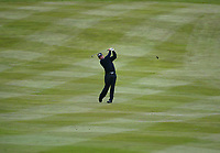 Photograph: Scott Heavey<br />Volvo PGA Championship At Wentworth Club. 23/05/2003.<br />Jose Maria Olazabal fires to the pin on the 3rd.