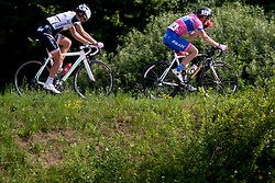 Tadej Hiti of DP Radenska during Slovenian National Championship Mirna Pec 2012, on June 24, 2012, in Mirna Pec, Slovenia. (Photo by Urban Urbanc / Sportida.com)