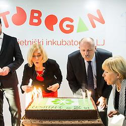 20151127: SLO, Events - Opening of Tobogan in Tehnoloski park Ljubljana