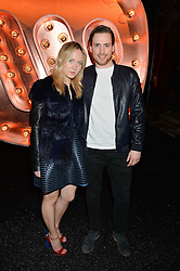 CAMILLA ELPHICK and HUGO GILBERT at the Warner Music Group & Ciroc Vodka Brit Awards After Party held at The Freemason's Hall, 60 Great Queen St, London on 24th February 2016.