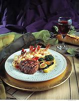 Steak and Shrimp Dinner