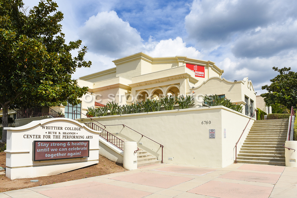 Ruth B. Shannon Center for Performing Arts on the Campus of Whittier College