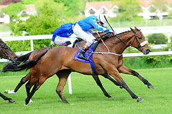 Sea The Lion ridden by Ronan Whelan go on to win Fitzpatrick Gallagher McEvoy Solicitors Handicap during Derrinstown Stud Derby Trial Day at Leopardstown Racecourse, Dublin.