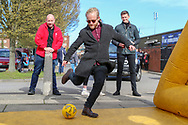 AFC Wimbledon penalty shoot out during the EFL Sky Bet League 1 match between AFC Wimbledon and Doncaster Rovers at the Cherry Red Records Stadium, Kingston, England on 9 March 2019.