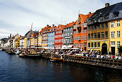 Denmark: Copenhagen, Nyhavn outdoor cafes, photo: viking102  .Photo copyright Lee Foster, www.fostertravel.com, 510/549-2202, lee@fostertravel.com