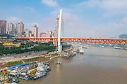 Dongshuimen Bridge, Yangtze River Tramway,  Chongquin, China