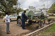 Wanda and Roy Bowman, both local ministers in St. Joseph, collecting clean water to deliver to their neighbors who are not able to gather it themselves. Edwards made an emergency health proclamation on December 16, 2016, enabling a fast-tracked replacement of St. Joseph's water system after lead was found in the water.