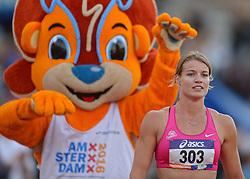 31-07-2015 NED: Asics NK Atletiek, Amsterdam<br /> Nk outdoor atletiek in het Olympische stadion Amsterdam /  Dafne Schippers wint de 100 meter