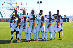 October 9, 2017 - Nabeul, Tunisia - Team of  Ivory coast during the second day of the group stage of the WMF World of Mini Foot 2017, played in Nabeul (60km south of Tunis) between Kazakhstan and the Ivory coast. (Credit Image: © Chokri Mahjoub via ZUMA Wire)