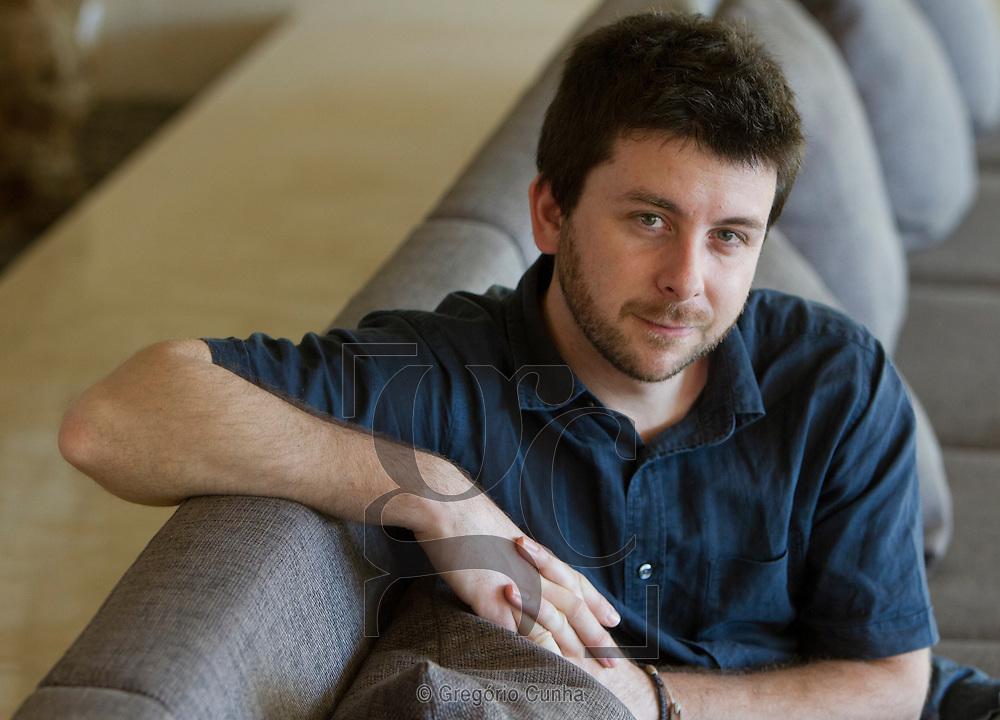 Entrevista com o escritor David Machado, Funchal, Ilha da Madeira.Foto Gregorio Cunha
